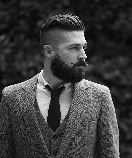 Причёски мужские назад