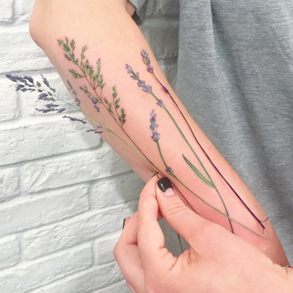 Лаванда татуировка значение 5